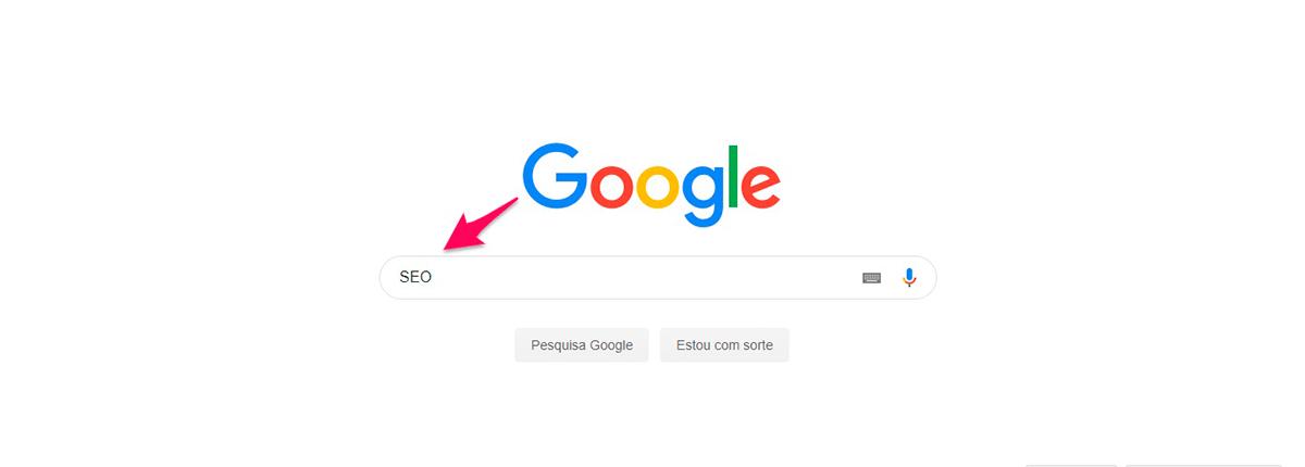 Imagem buscador do Google